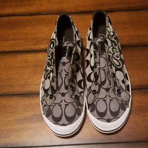 Coach slip on shoes